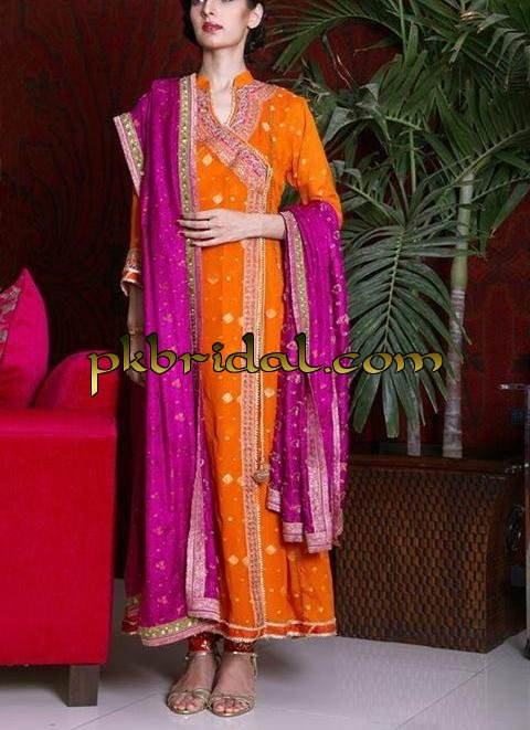 Mehndi Dresses Pakistani Wedding Dressess Party Dresses