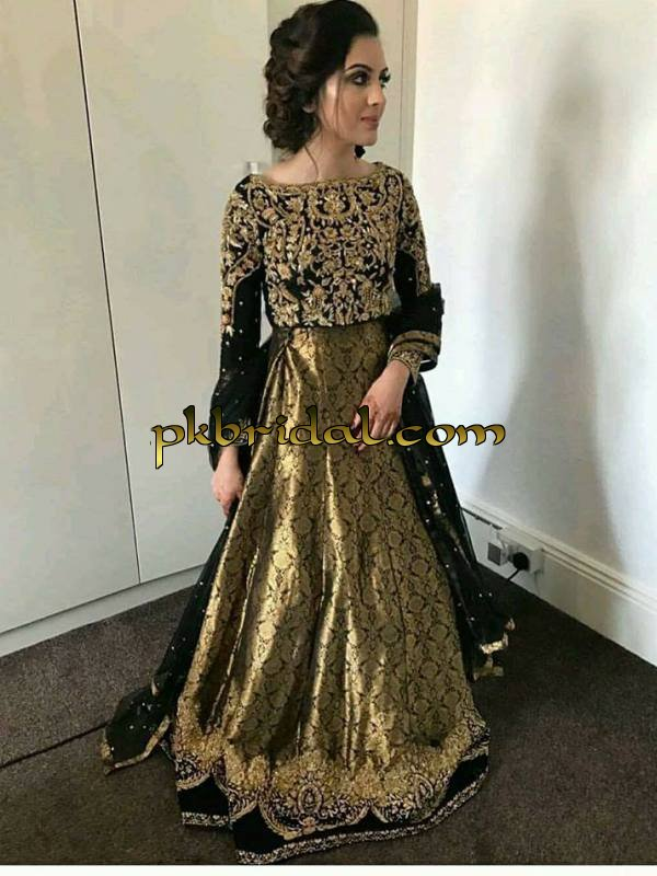 Pakistani bridal dresses collection 2018 for Pakistani dresses for wedding parties