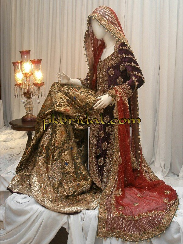 Pakistani Wedding Dresses Collection 2018