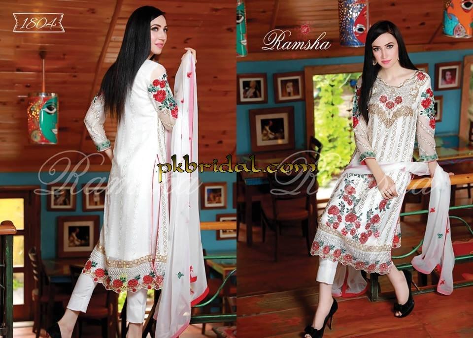 8f7407d2f7 ramsha fashion fabrics and zari collection   Pakistani Wedding ...
