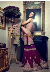Pink Gharara