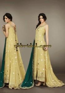 Yellow Mehndi Wear