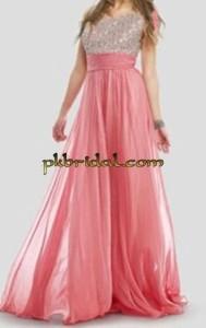 Pink Party Wear Frock