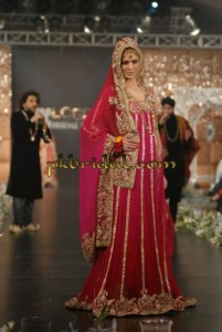 Red Bridal Frock