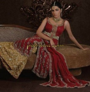 Red Bridal Suit