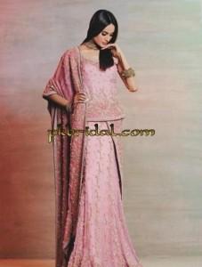 Pink Bridal Dress