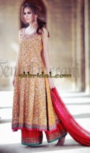 Embroidered Bridal Dress