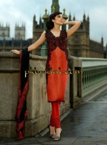 Red Party Wear