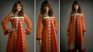 Pakistani Party Dresses 2015