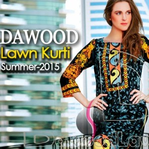 Dawood Lawn Kurti Collection
