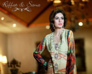 Riffat And Sana Collection 2015