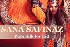 Sana Safinaz Pure Silk 2015