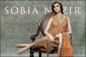 Sobia Nazir Chiffon Collection 2015