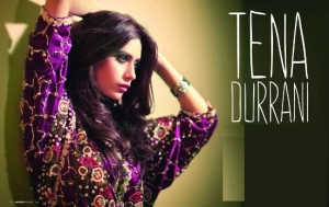 Teena Durrani Latest Collection 2015